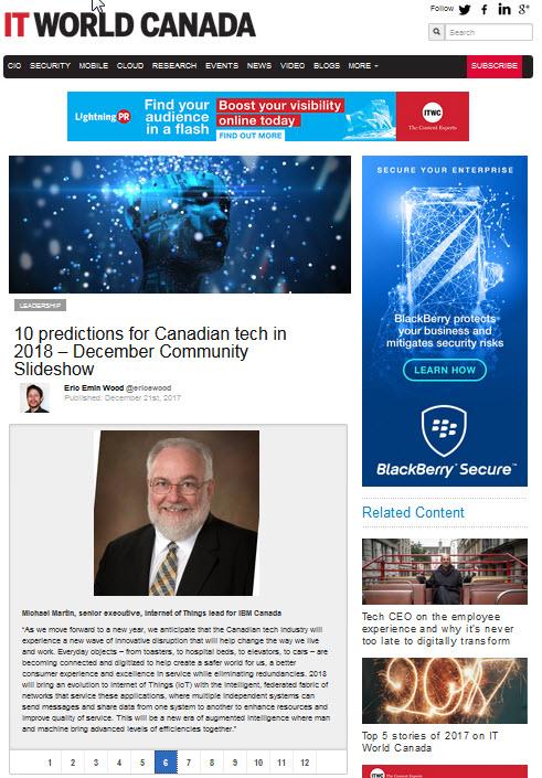 IT World Canada Dec 2017