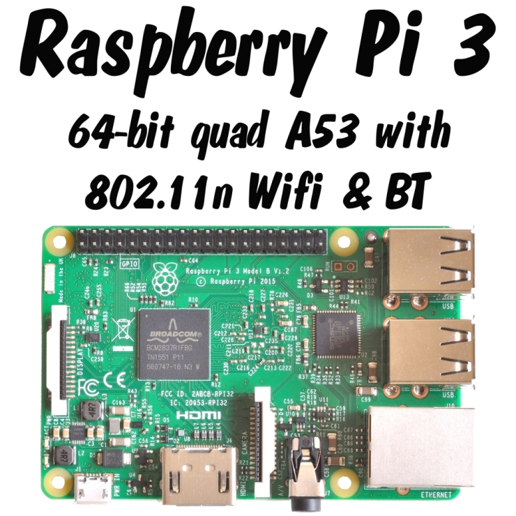 Raspberry Pi Family Photo