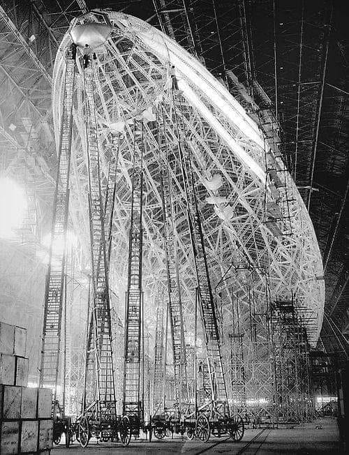 Hindenberg Construction 1935