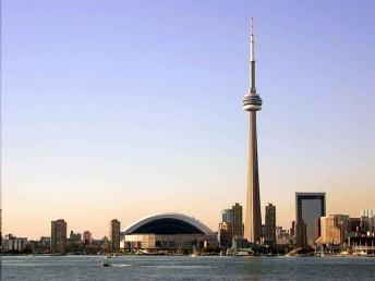 CN Tower Wide Shot